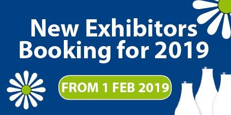 New Exhibitors booking for 2019